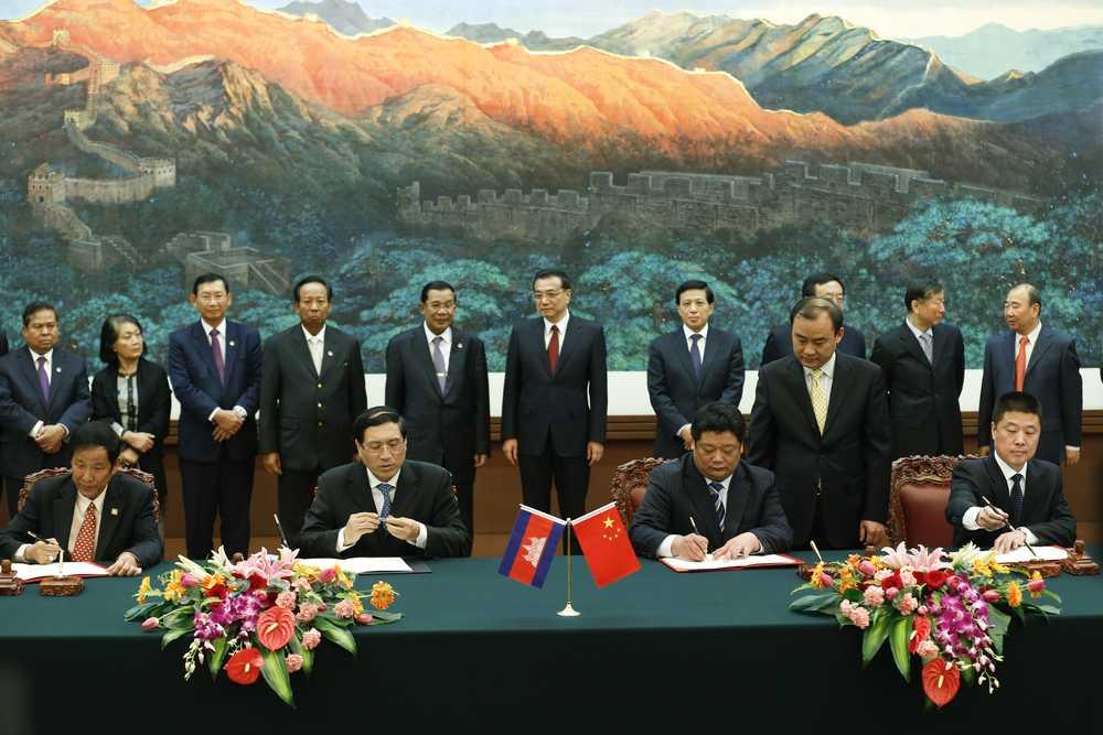 diplomatic relation cambodia China