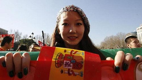 Chinese tourist Spain