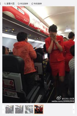 Hot headed Chinese Tourists lose their cool over bad seats and hot water