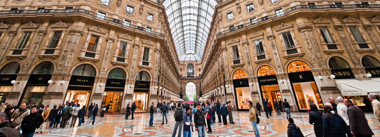 Italy is a top destination for chinese tourists chinese for Outlet design milano