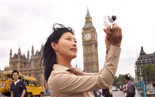 Chinese tourists abroad - cover