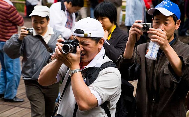 Majority Chinese tourists will travel around Asia in 2015