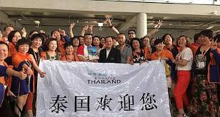 12700 Chinese go to Thailand for 6 days paid by their company