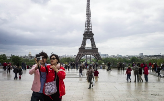Top 10 of the most visited sites in France by Chinese tourists