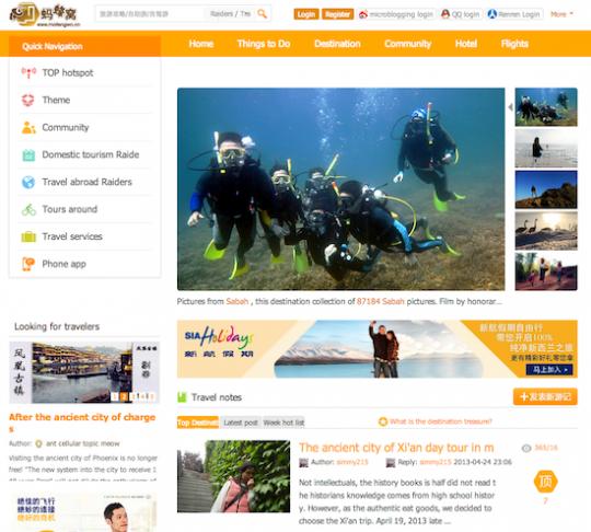 Mafengwo-Social-Travel-Portal-Funding