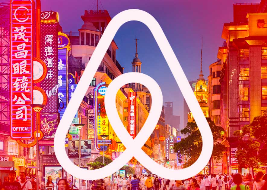 Is Airbnb successful in China?