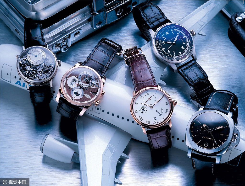 China Overtakes U.S. in Luxury Watch Demand