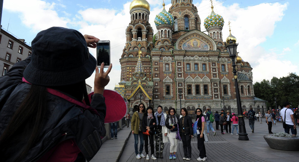 +40% Chinese Tourists in Russia