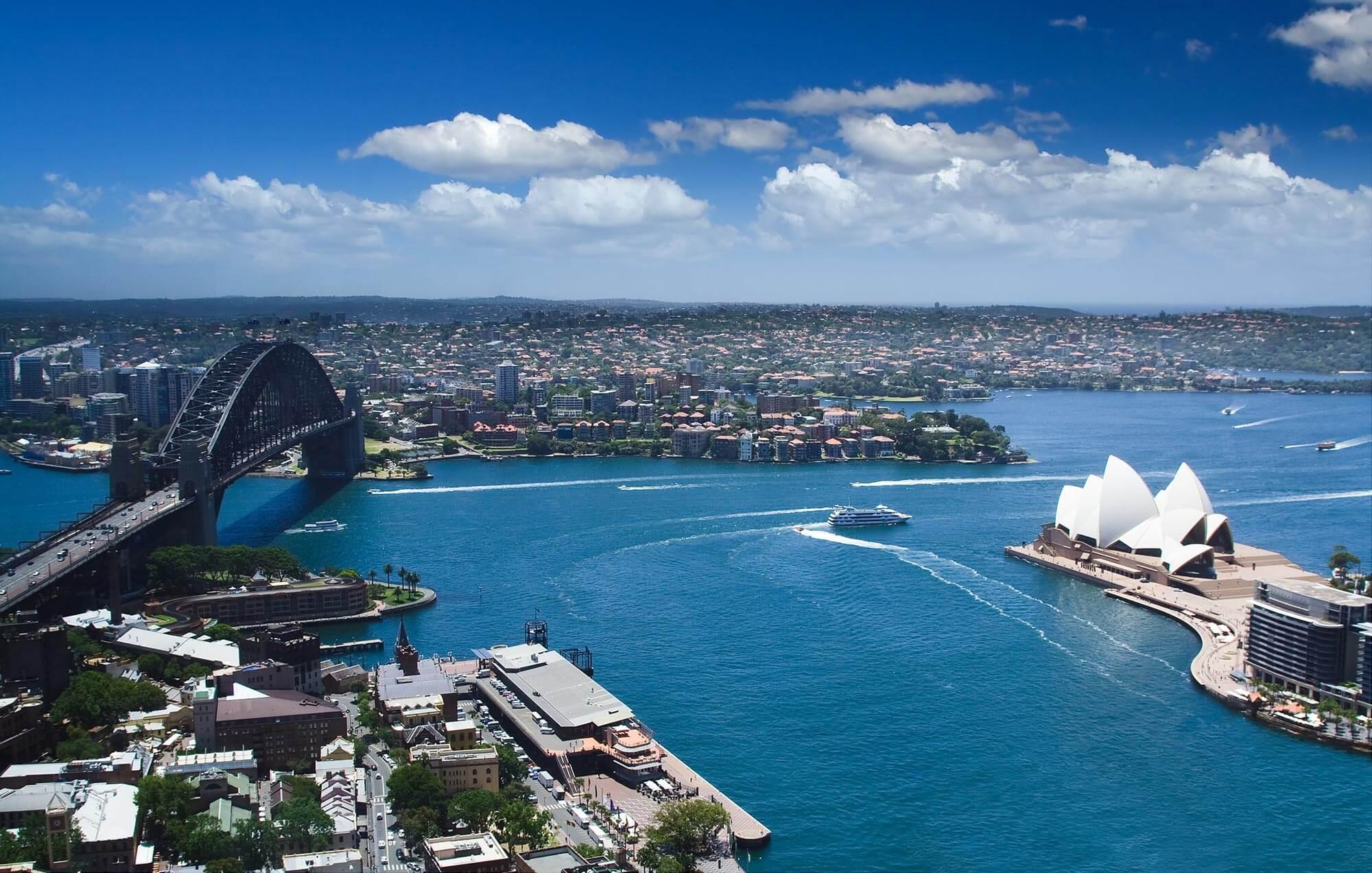 место занимаемое австралии в мире