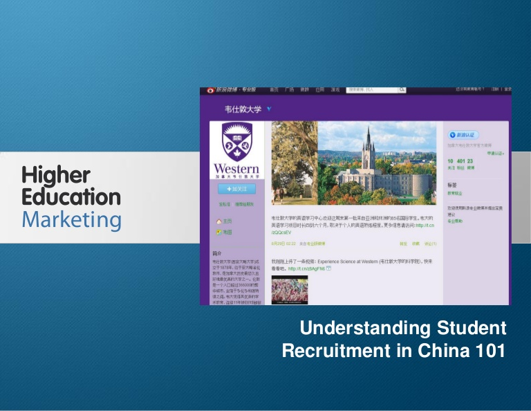 Education Marketing in China