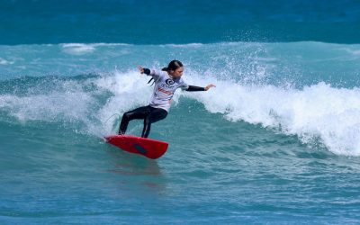 Surfing is a rising activity in China